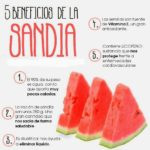5 beneficios de la sandia